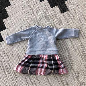Girls Burberry Sweater Dress 18M EUC RTL:$150
